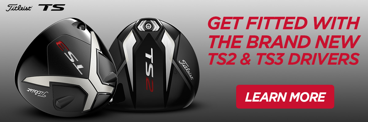 Get Fitted with the Brand New Titleist TS2 and TS3 Drivers