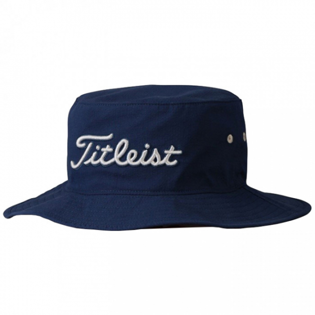 37397ece4 Titleist Performace SeerSucker Bucket Hat (Navy / Grey) | Men's ...