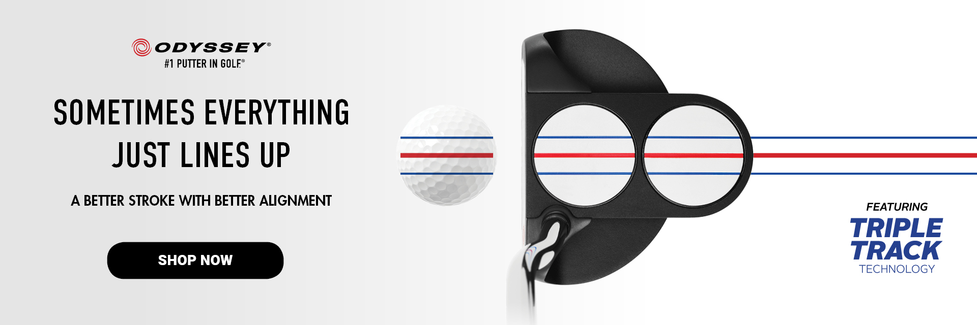 Odyssey Triple Track Putter Launch