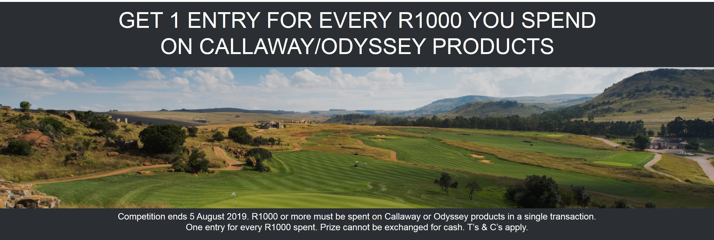 Callaway Ultimate Golf Tour Promotion